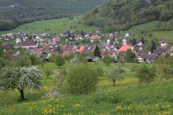 Sicht vom Schützenhaus