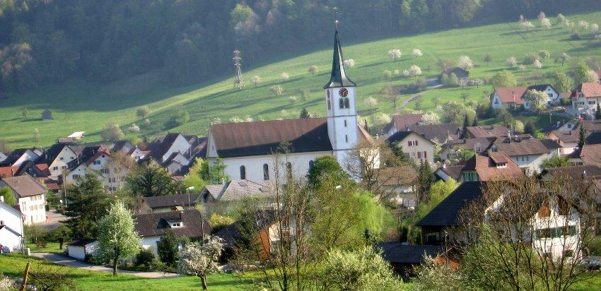 Sicht vom Rüebacker