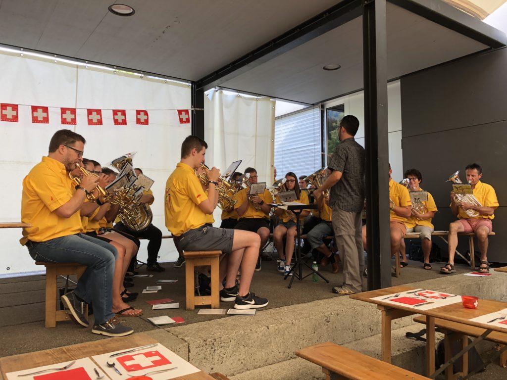 Brass Band Erschwil, Landeshymne