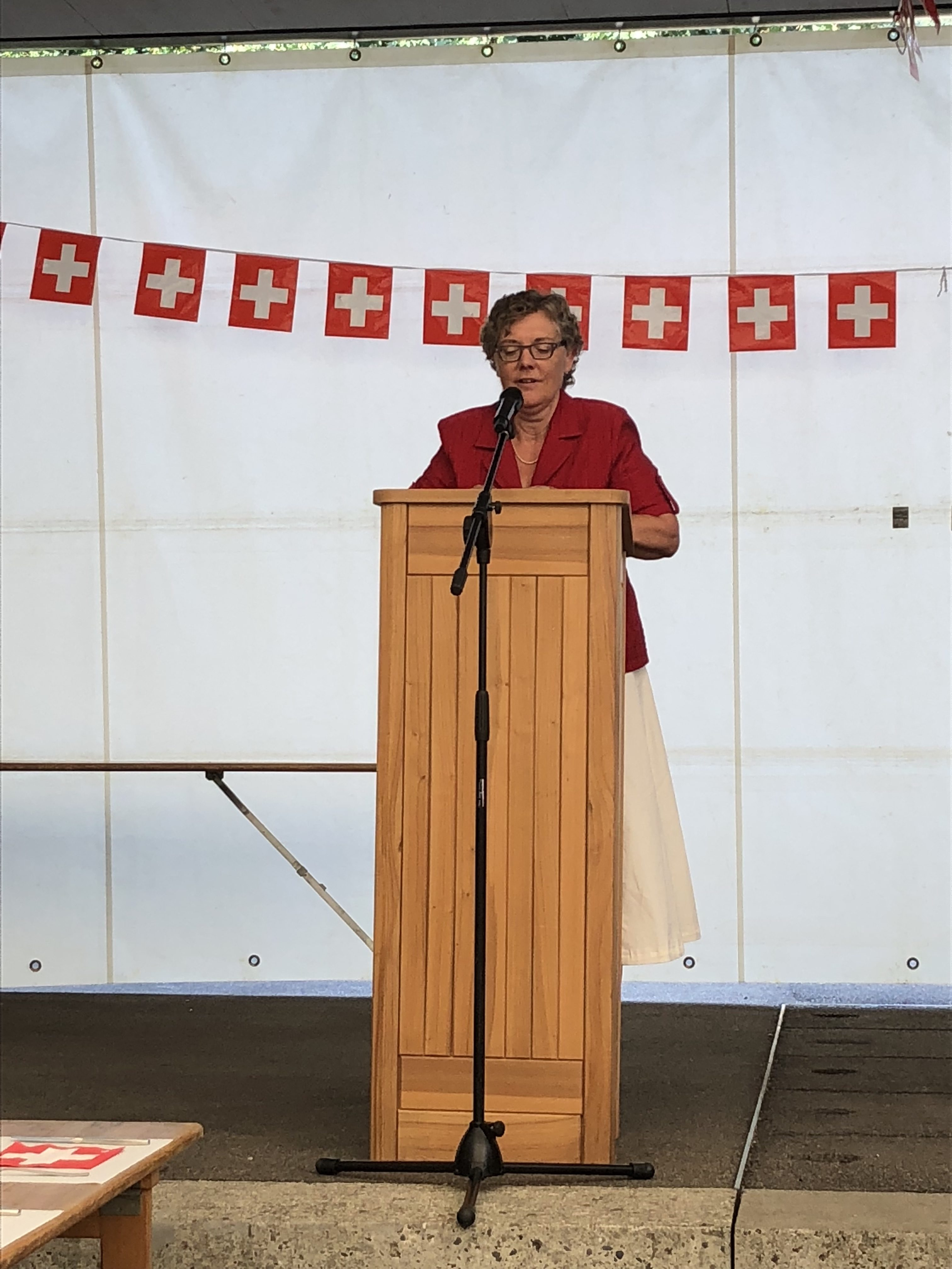 Susanne Koch, Festrednerin