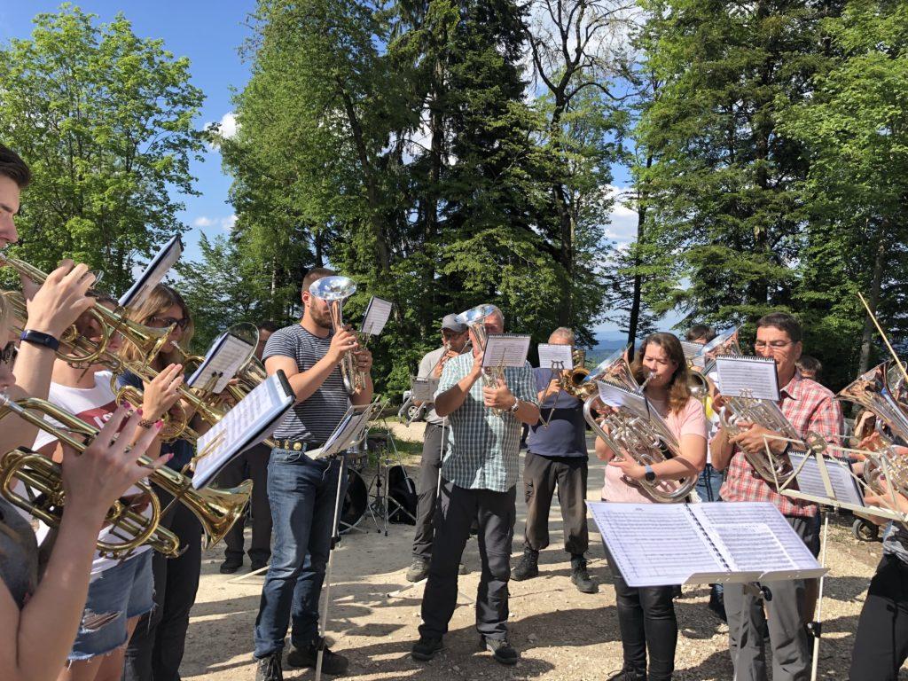 Brass Band Erschwil mit musikalischem Intermezzo