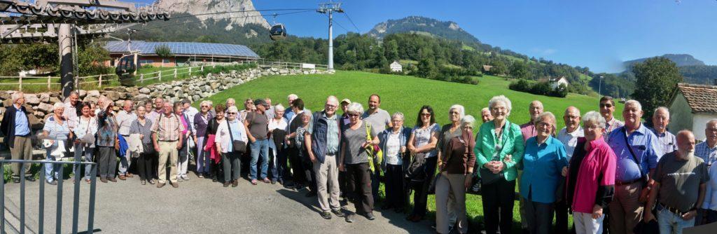 Rickenbach: Talstation Gondelbahn Rotenflue